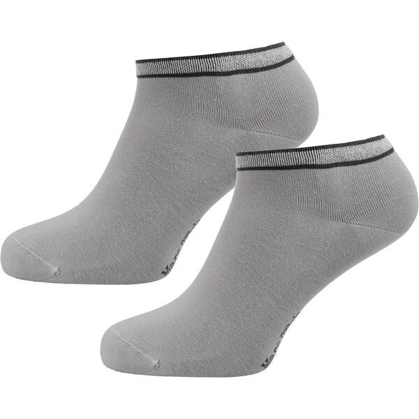 Socken für Frauen - Marc O'Polo Socken 'Ole' grau schwarz  - Onlineshop ABOUT YOU