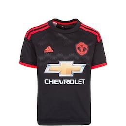 ADIDAS,ADIDAS PERFORMANCE Kinder,Jungen Manchester United Trikot 3rd 2015/2016 schwarz | 04055015008387