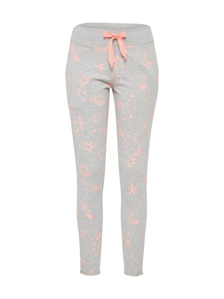 Hosen für Frauen - Juvia Sweathose 'Cosmic' grau orange  - Onlineshop ABOUT YOU