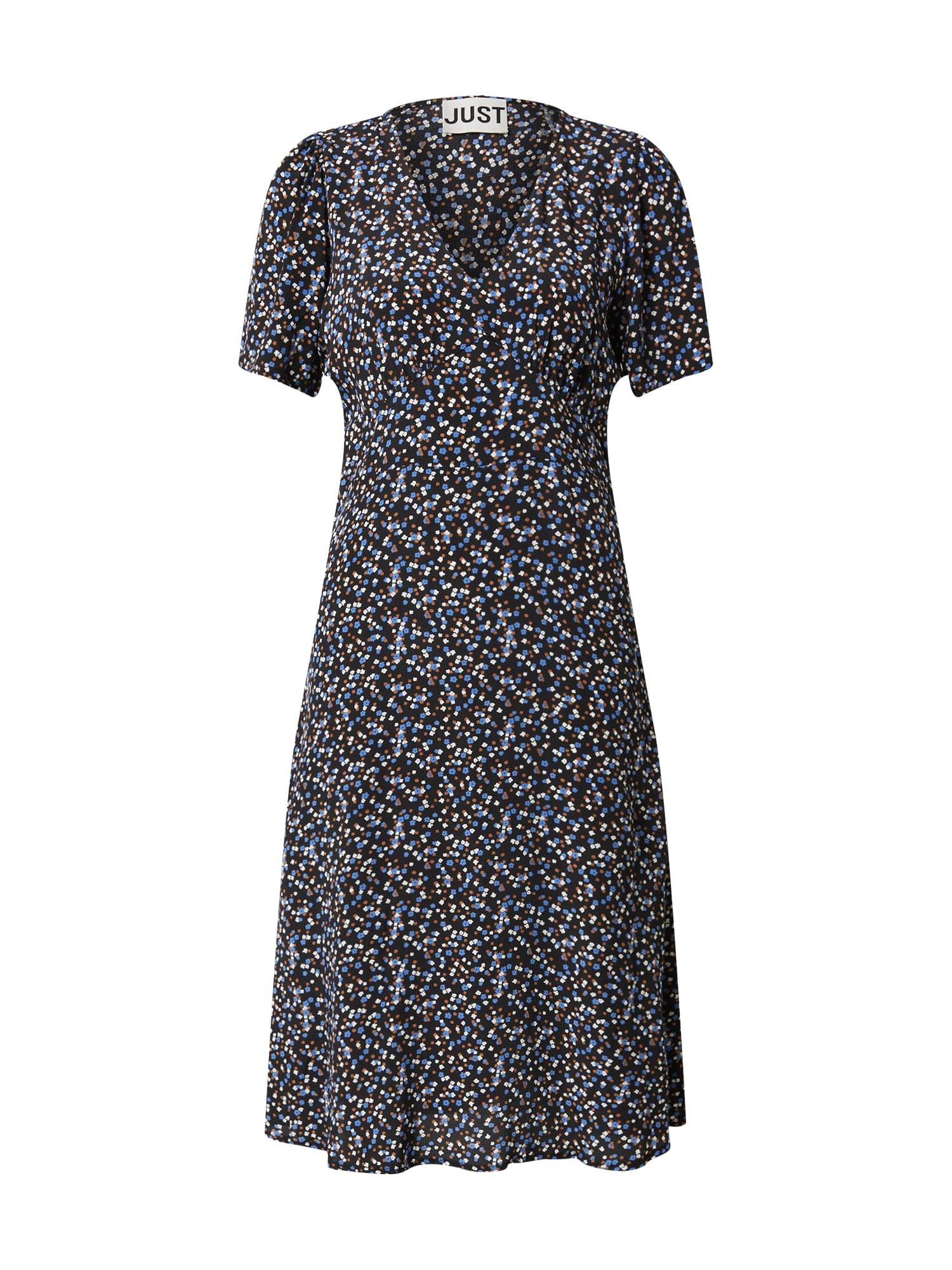 JUST FEMALE Šaty 'Lassy'  modré / čierna