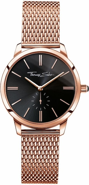 Uhren für Frauen - Thomas Sabo Quarzuhr 'WA0249 265 203 33 mm' rosegold  - Onlineshop ABOUT YOU