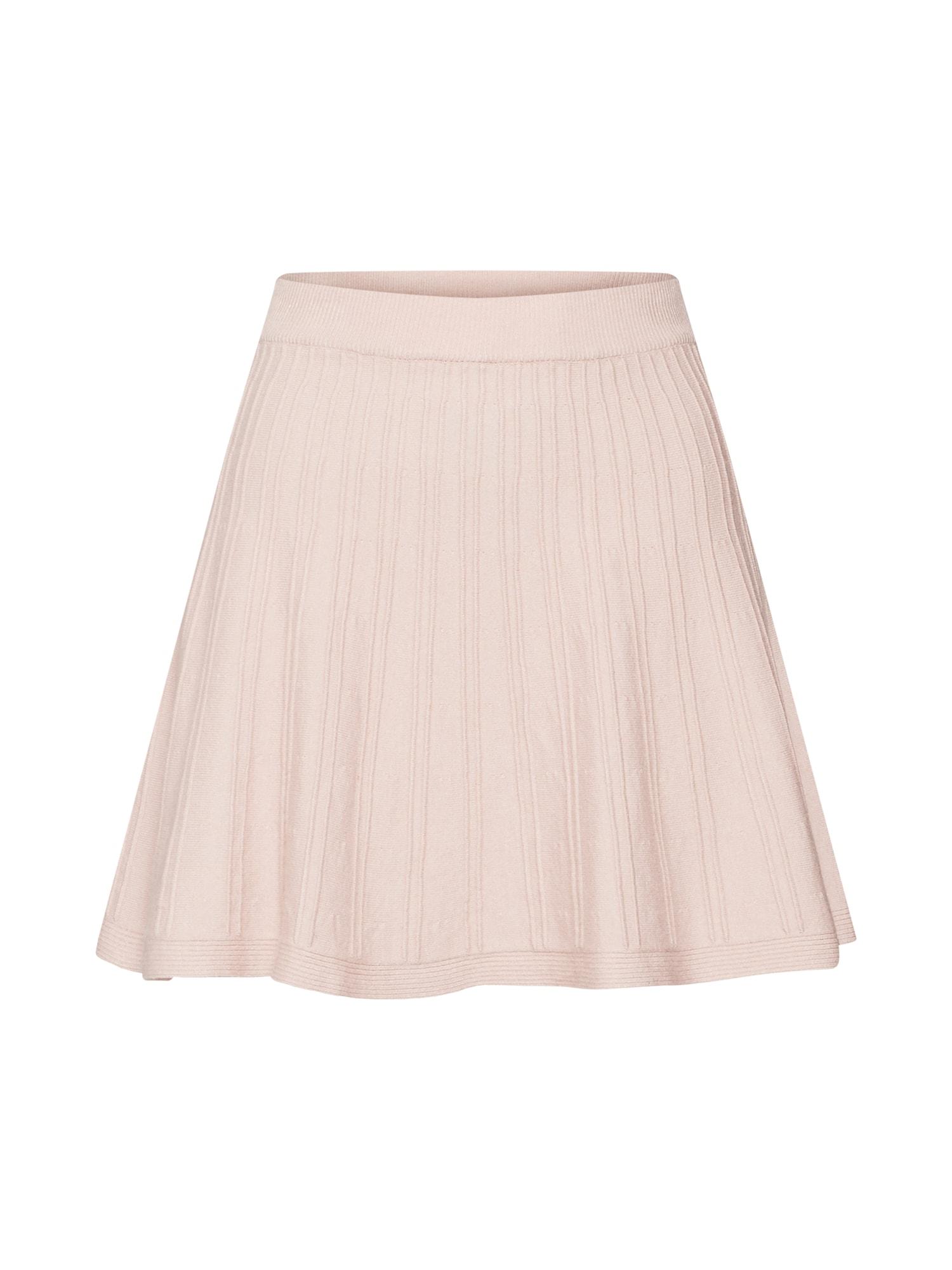 Sukně Flipside Skirt tělová Parallel Lines