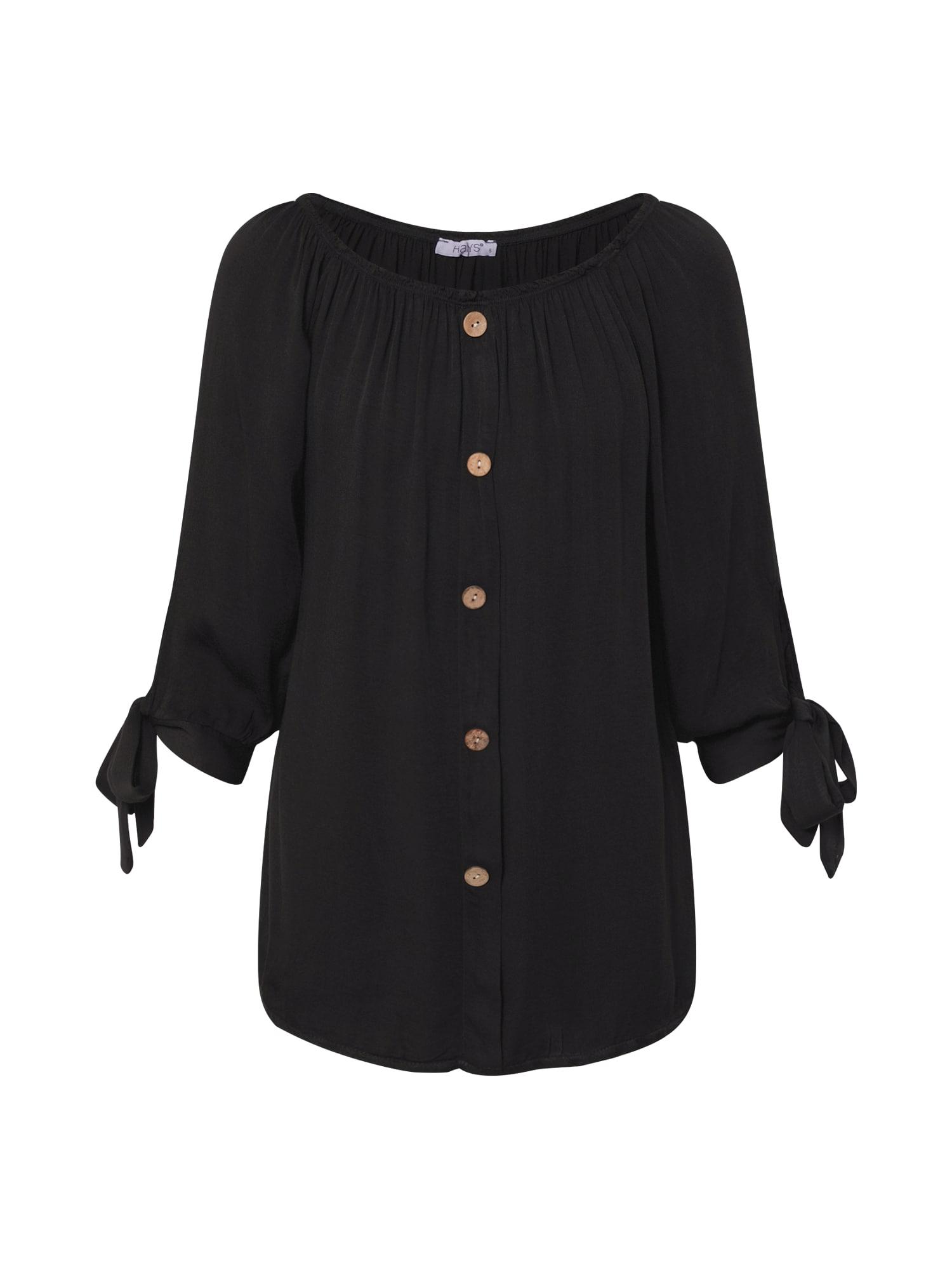 Hailys Marškinėliai 'Eliana' juoda