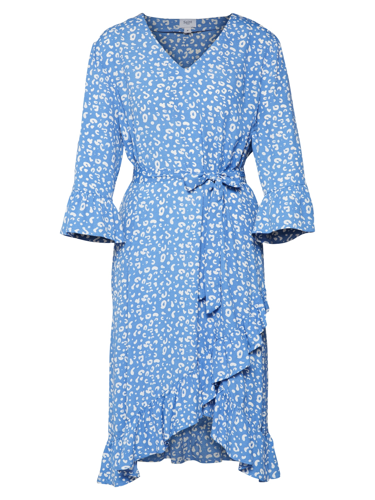 Letní šaty světlemodrá bílá SAINT TROPEZ