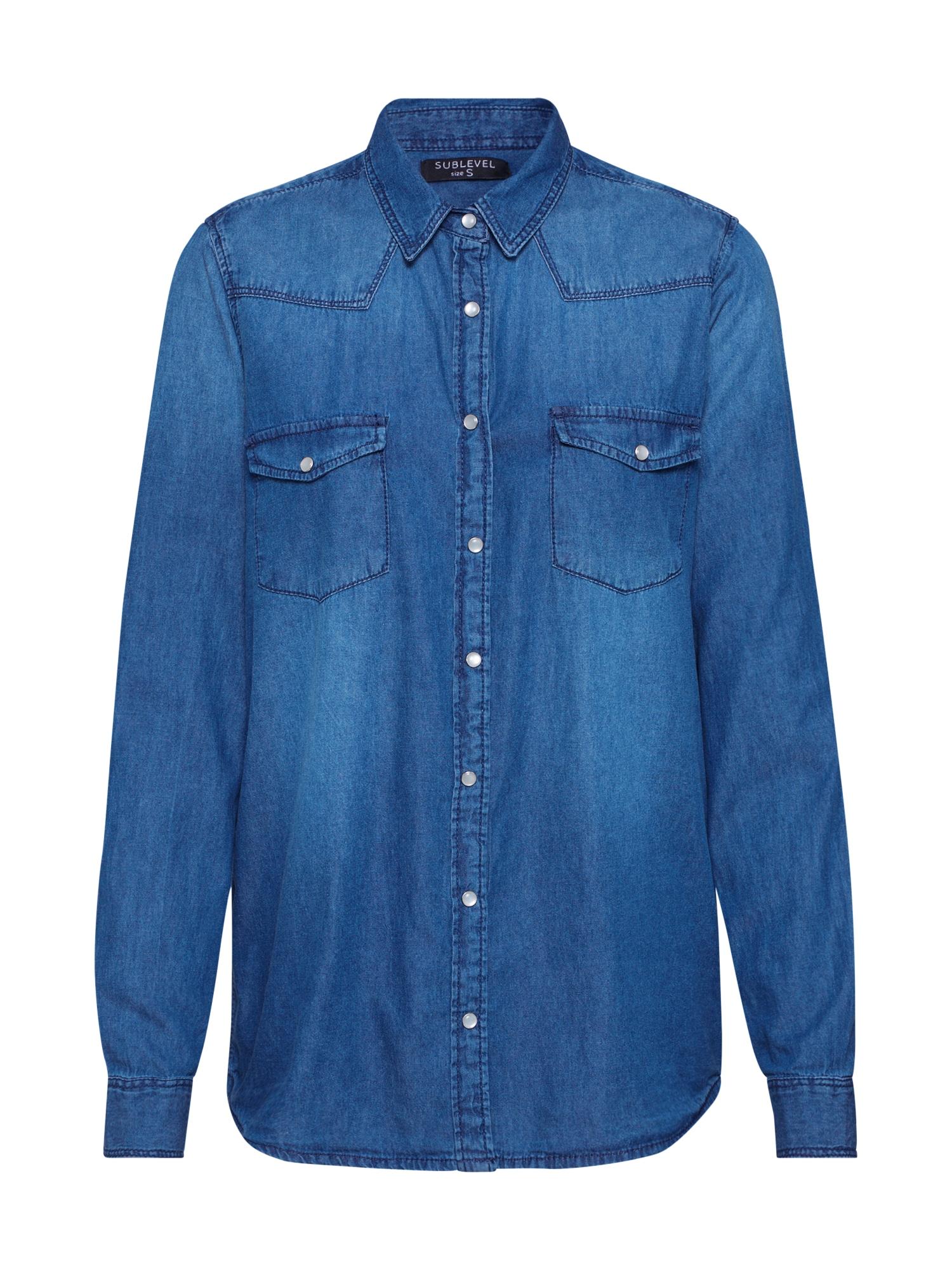 Sublevel Palaidinė tamsiai (džinso) mėlyna