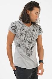 - trueprodigy Herren T-Shirts Maori Culture grau,schwarz | 04057124049343