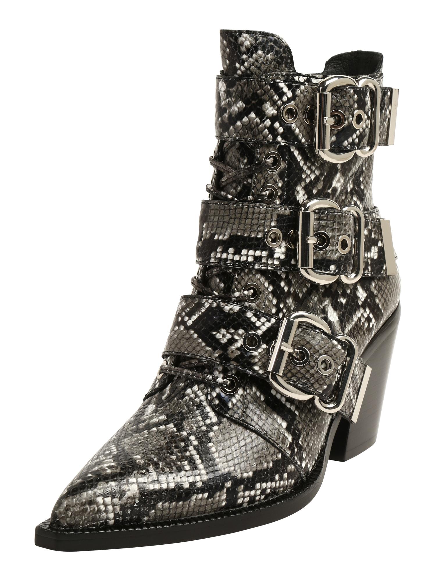 Jeffrey Campbell Kotníkové boty 'CACERES-CL' šedá