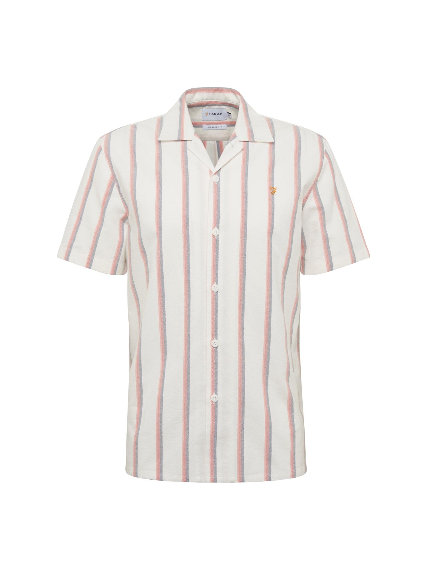 Košile SAUNDERSON červená bílá FARAH