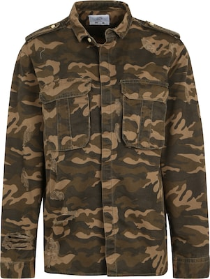 Sixth June Camouflage-Jacke aus Denim