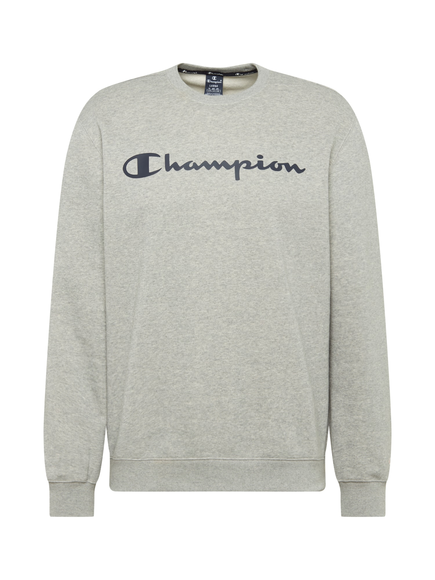 Champion Authentic Athletic Apparel Megztinis be užsegimo pilka / tamsiai mėlyna