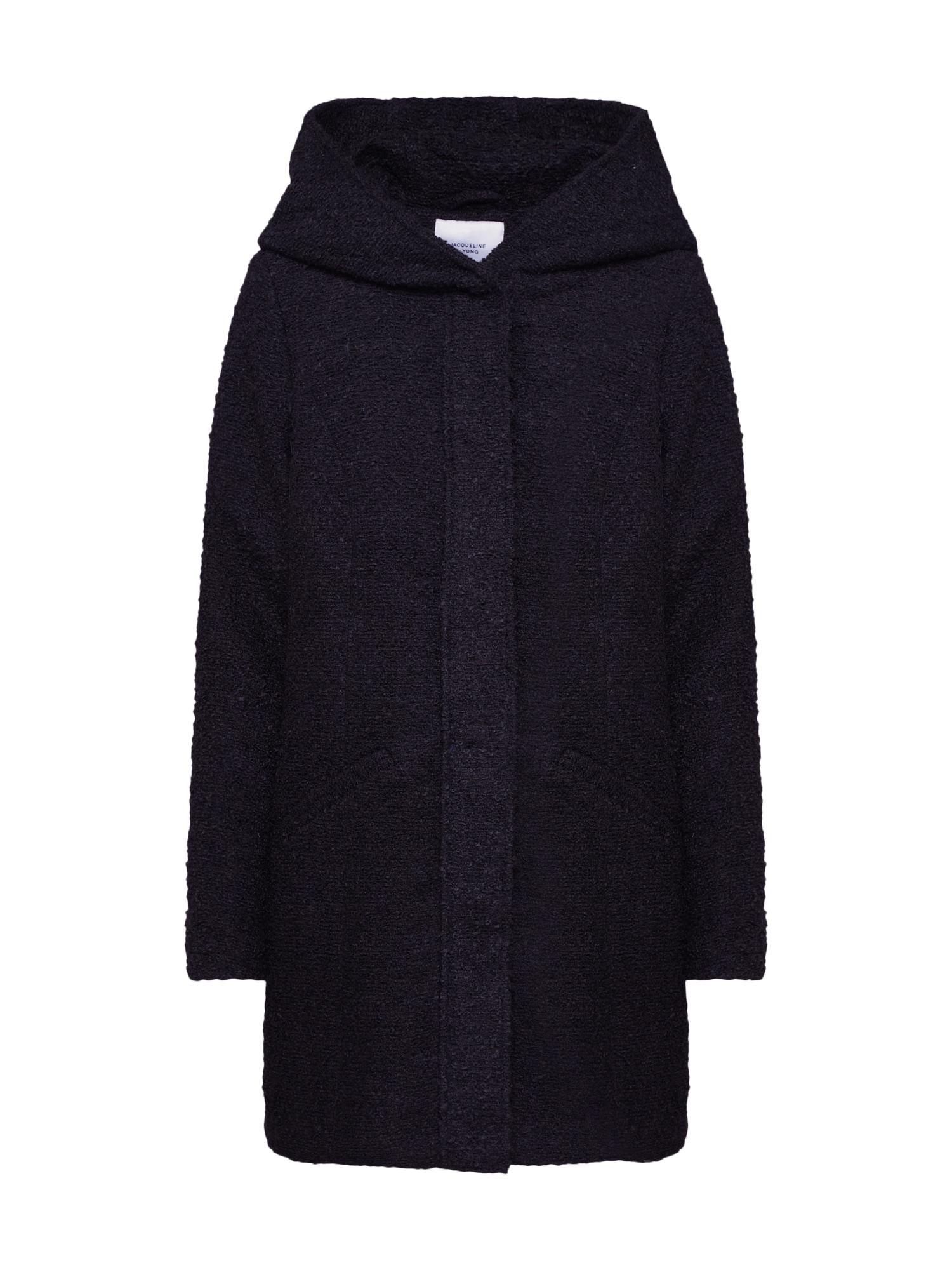 JACQUELINE de YONG Rudeninis-žieminis paltas 'DEMEA' juoda