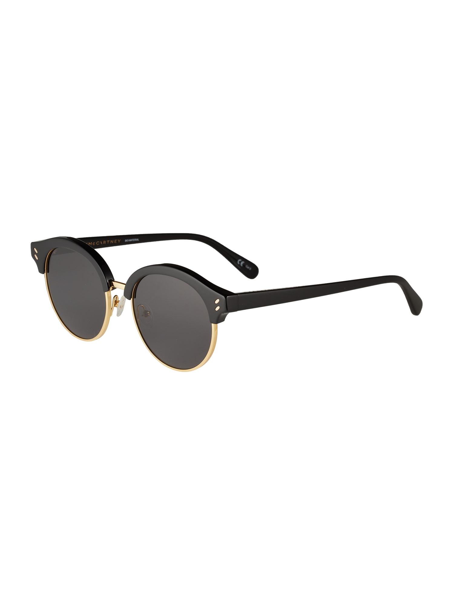 Stella McCartney Slnečné okuliare 'SC0120S 50'  sivá / čierna
