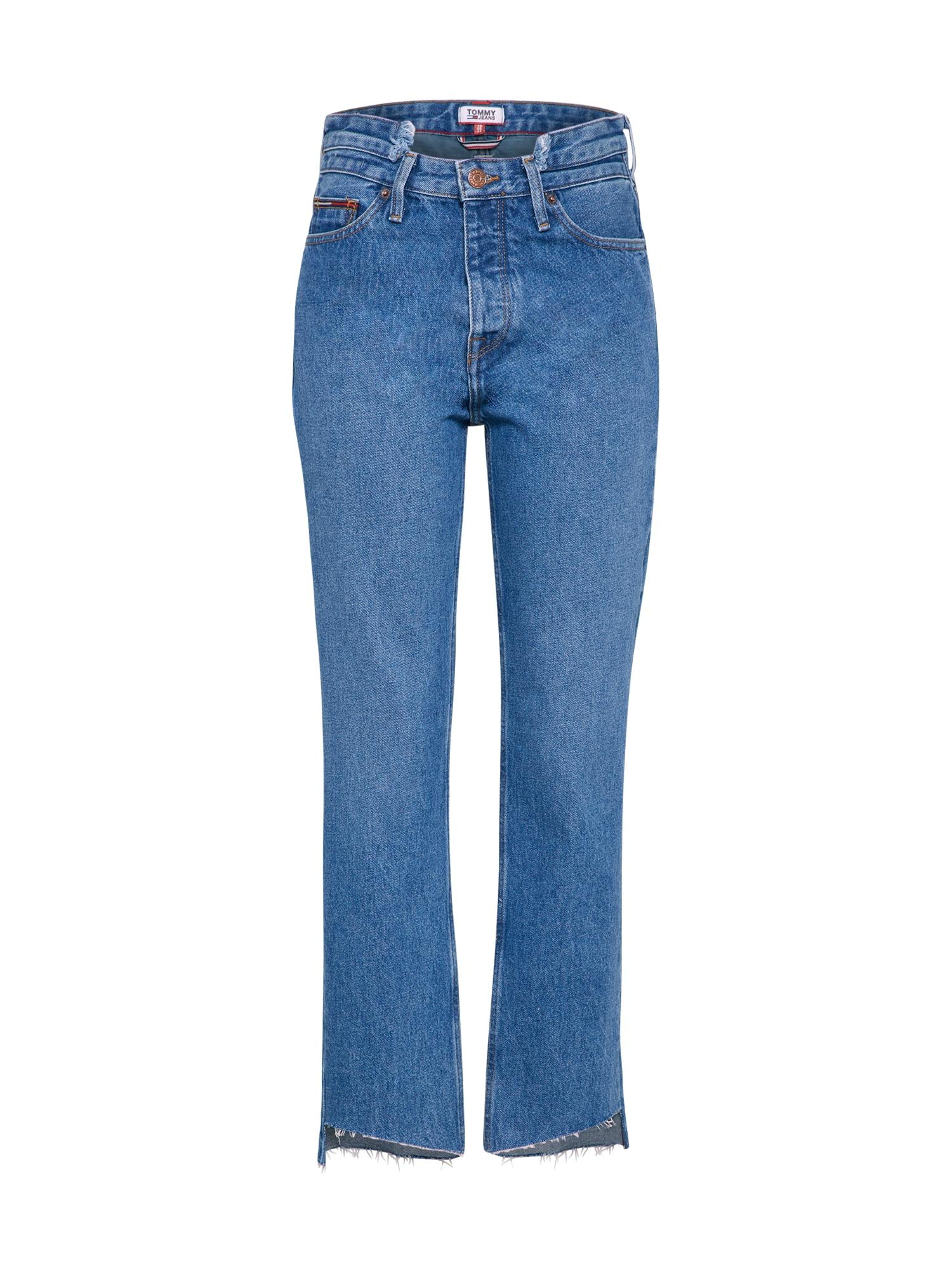 Džíny HIGH RISE SLIM IZZY modrá džínovina Tommy Jeans