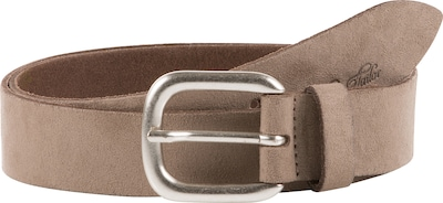TOM TAILOR Ledergürtel 'suede leather belt with alcantara soft touch'