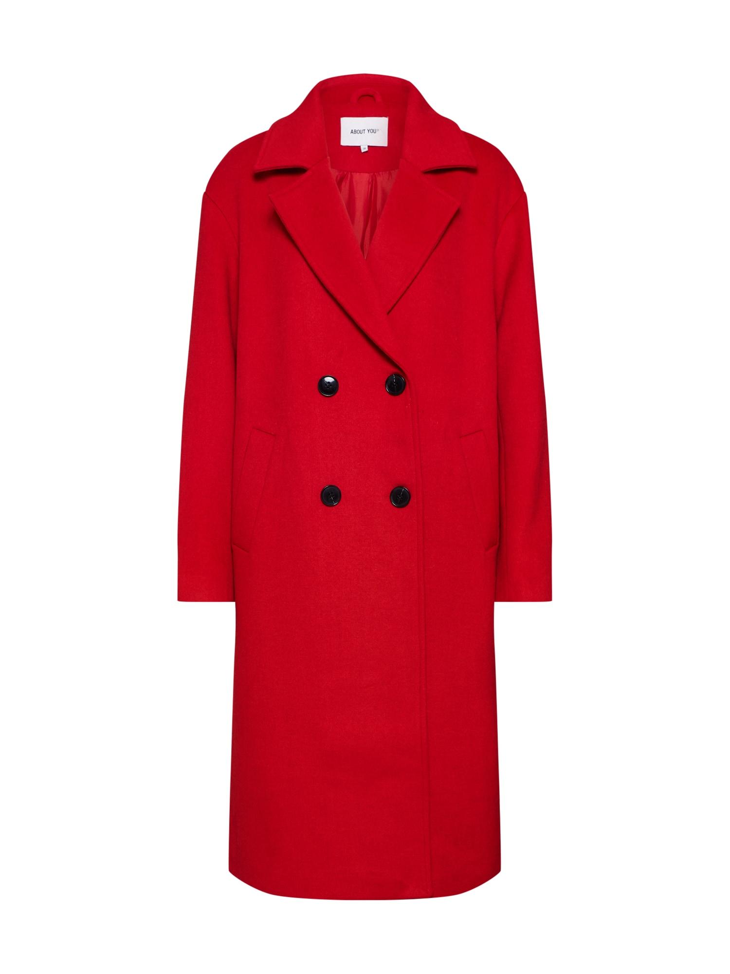 ABOUT YOU Rudeninis-žieminis paltas 'Candy' raudona