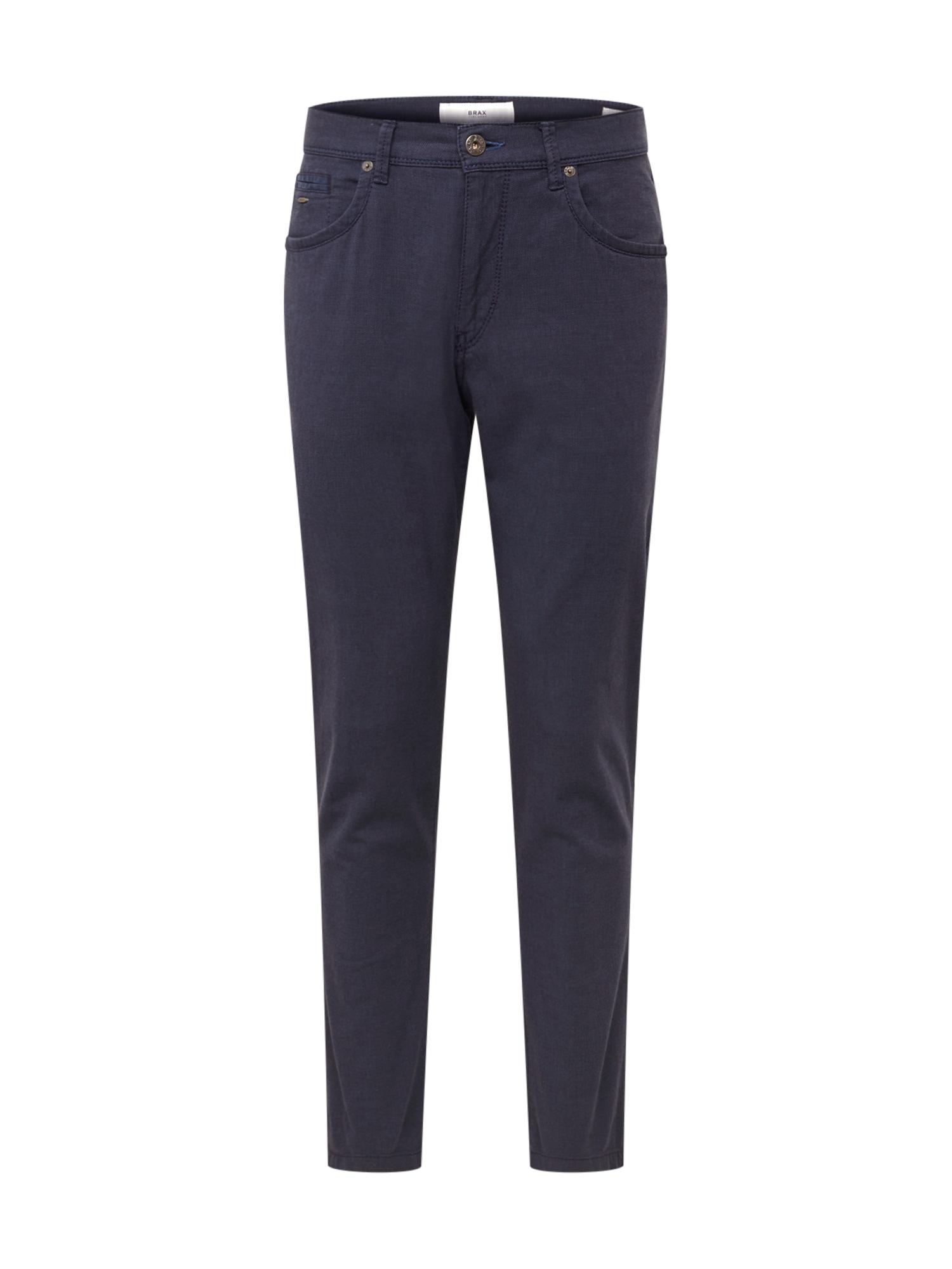 Kalhoty cadiz tmavě modrá BRAX