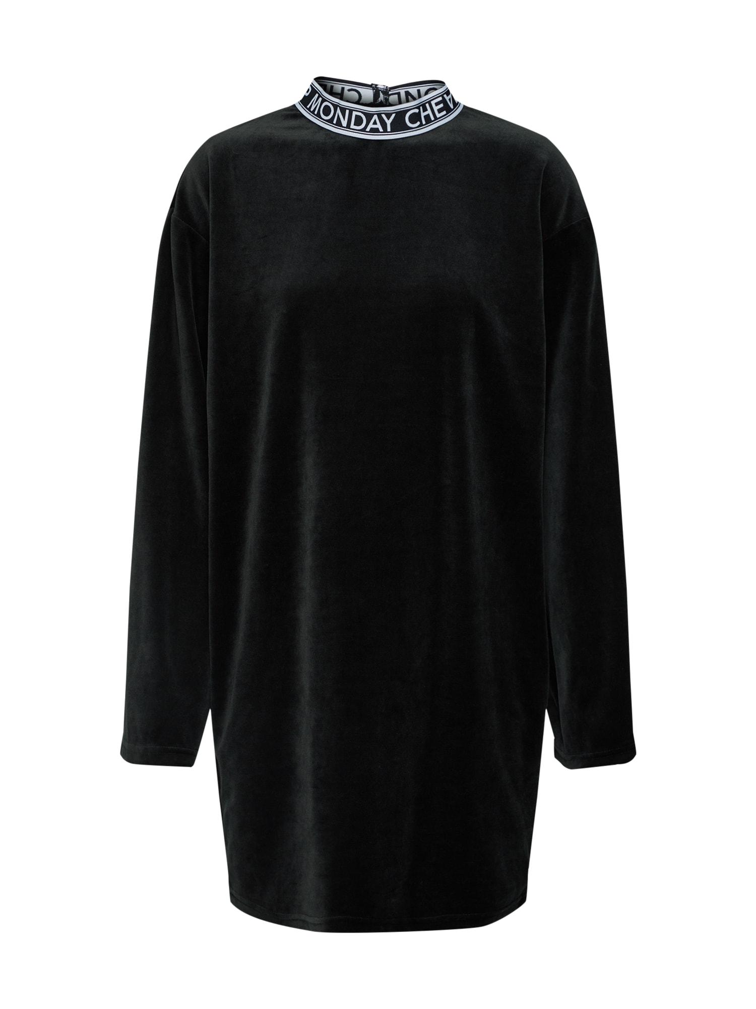 Šaty černá CHEAP MONDAY