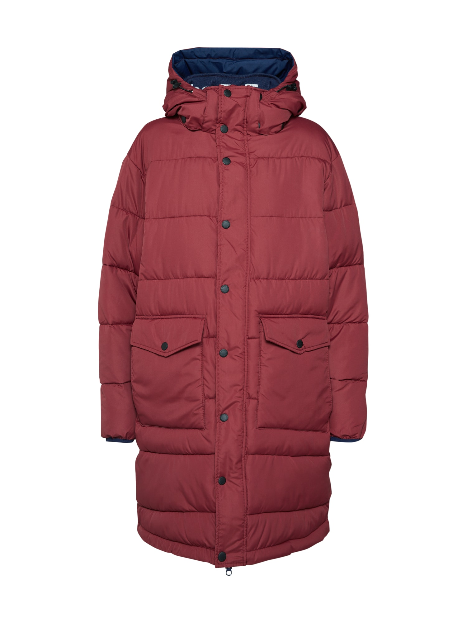 Zimní kabát Vlatka bordó Kings Of Indigo