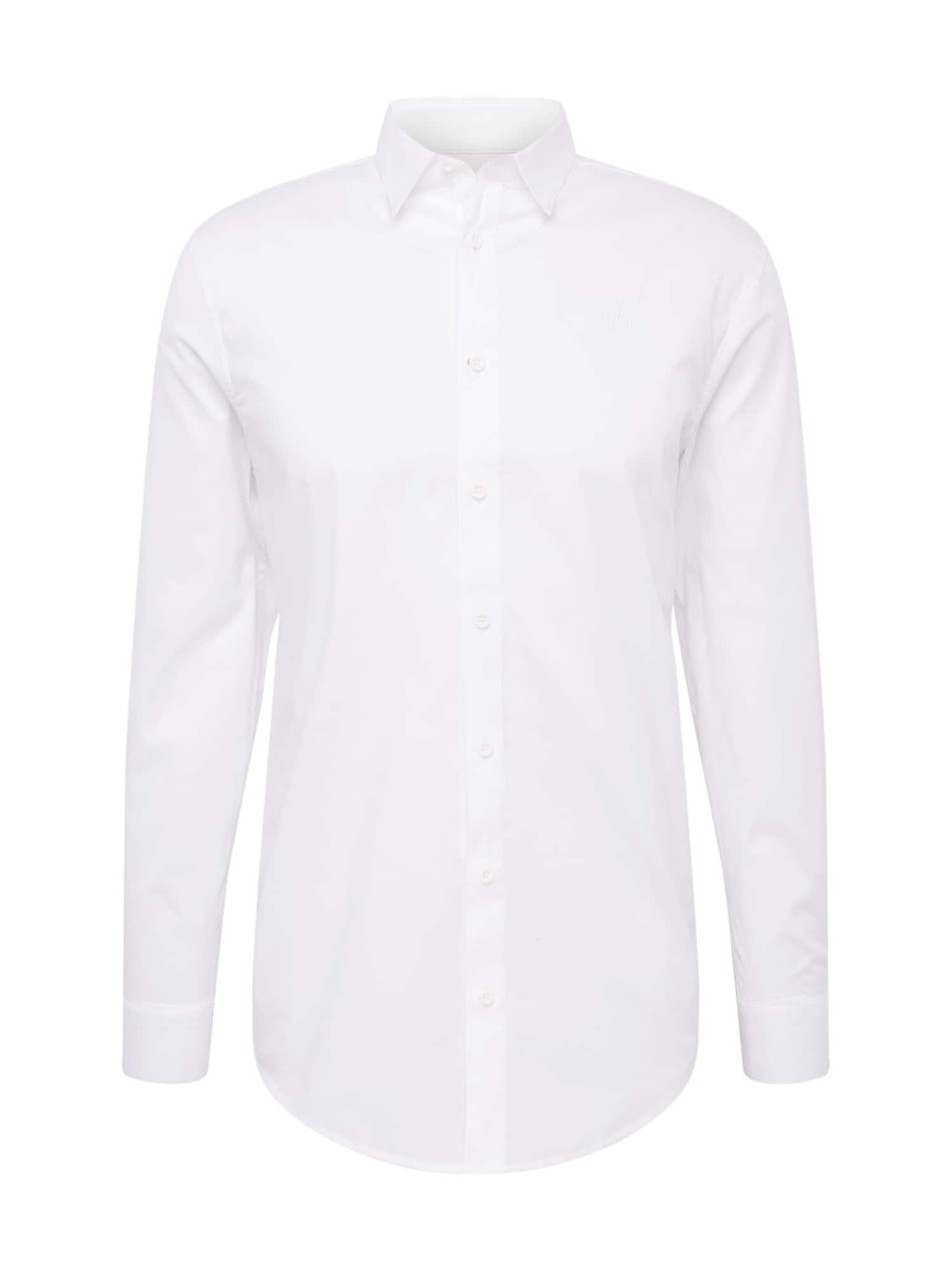 Společenská košile bílá SikSilk