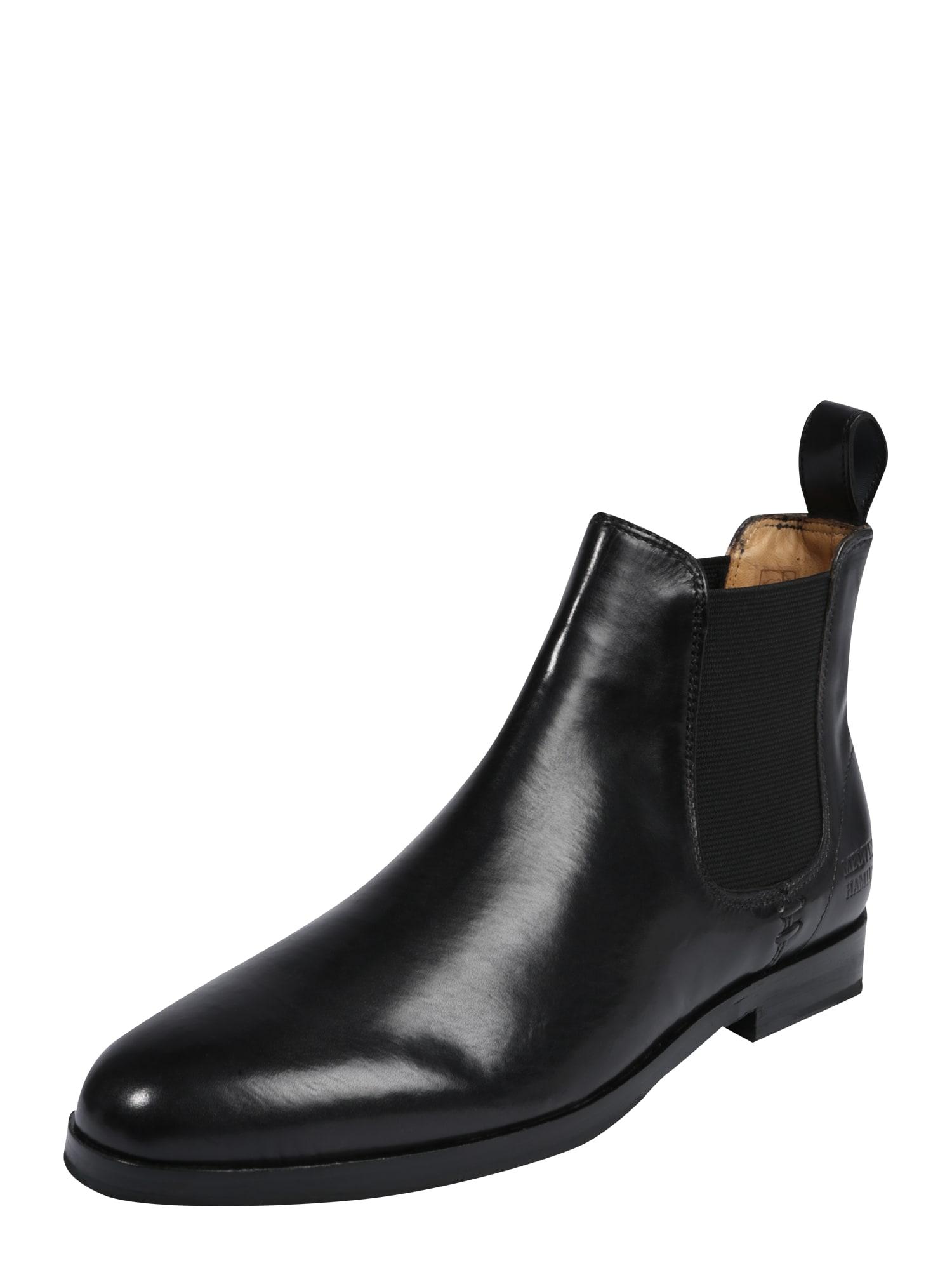 Kotníkové boty Susan 10 černá MELVIN & HAMILTON
