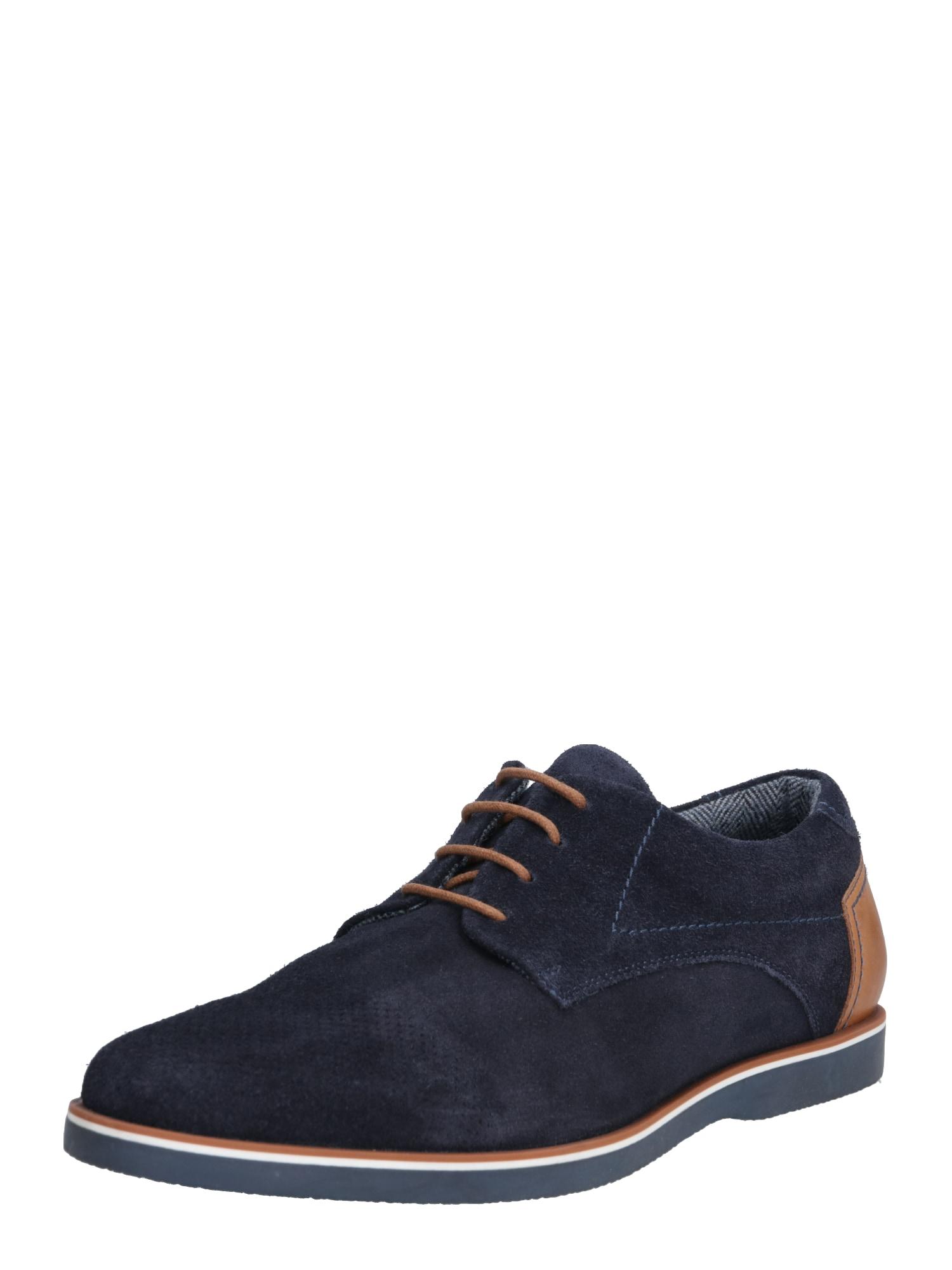 ABOUT YOU Batai su raišteliais 'Jakob Shoe' tamsiai mėlyna