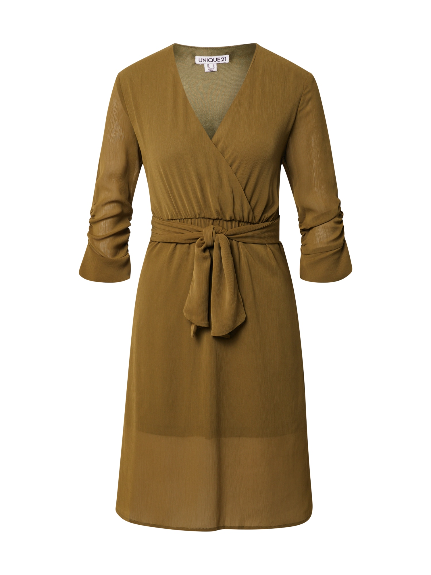Unique21 Palaidinės tipo suknelė alyvuogių spalva
