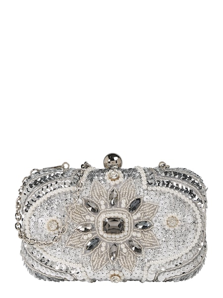 Clutches für Frauen - Clutch › Mascara › silber  - Onlineshop ABOUT YOU