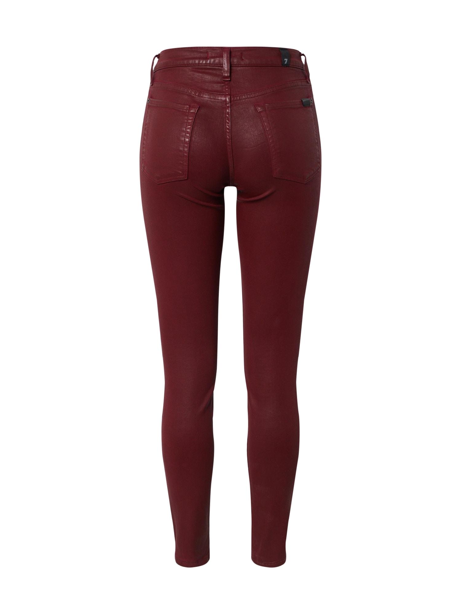 7 for all mankind Jeans  burgunder