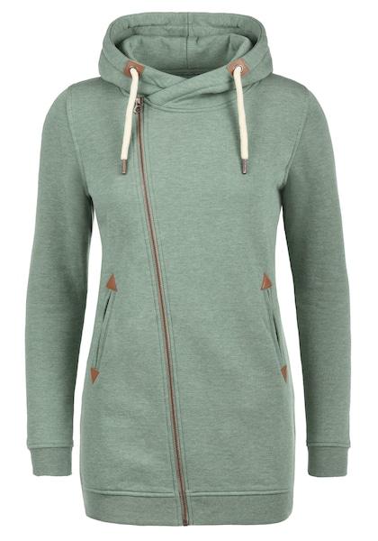 Jacken für Frauen - Desires Kapuzensweatjacke 'Vicky' mint  - Onlineshop ABOUT YOU