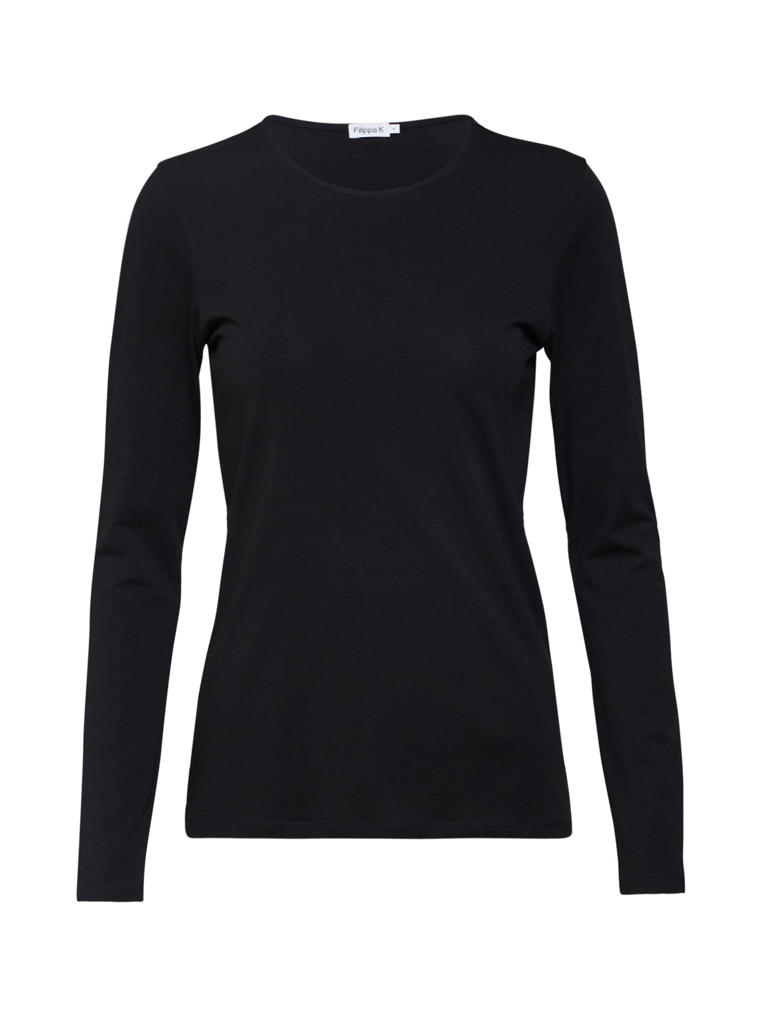 Filippa K Marškinėliai juoda
