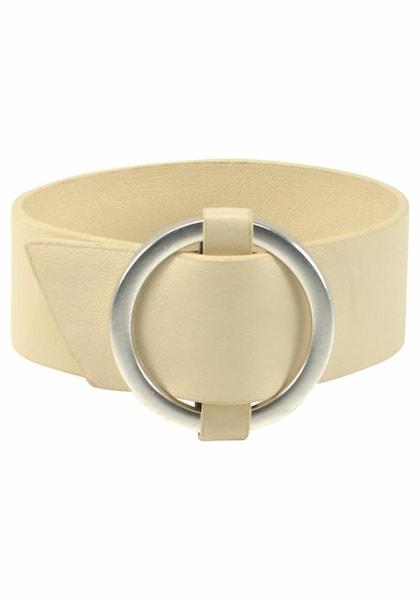 Armbaender für Frauen - J. Jayz Armband pastellgelb silber  - Onlineshop ABOUT YOU
