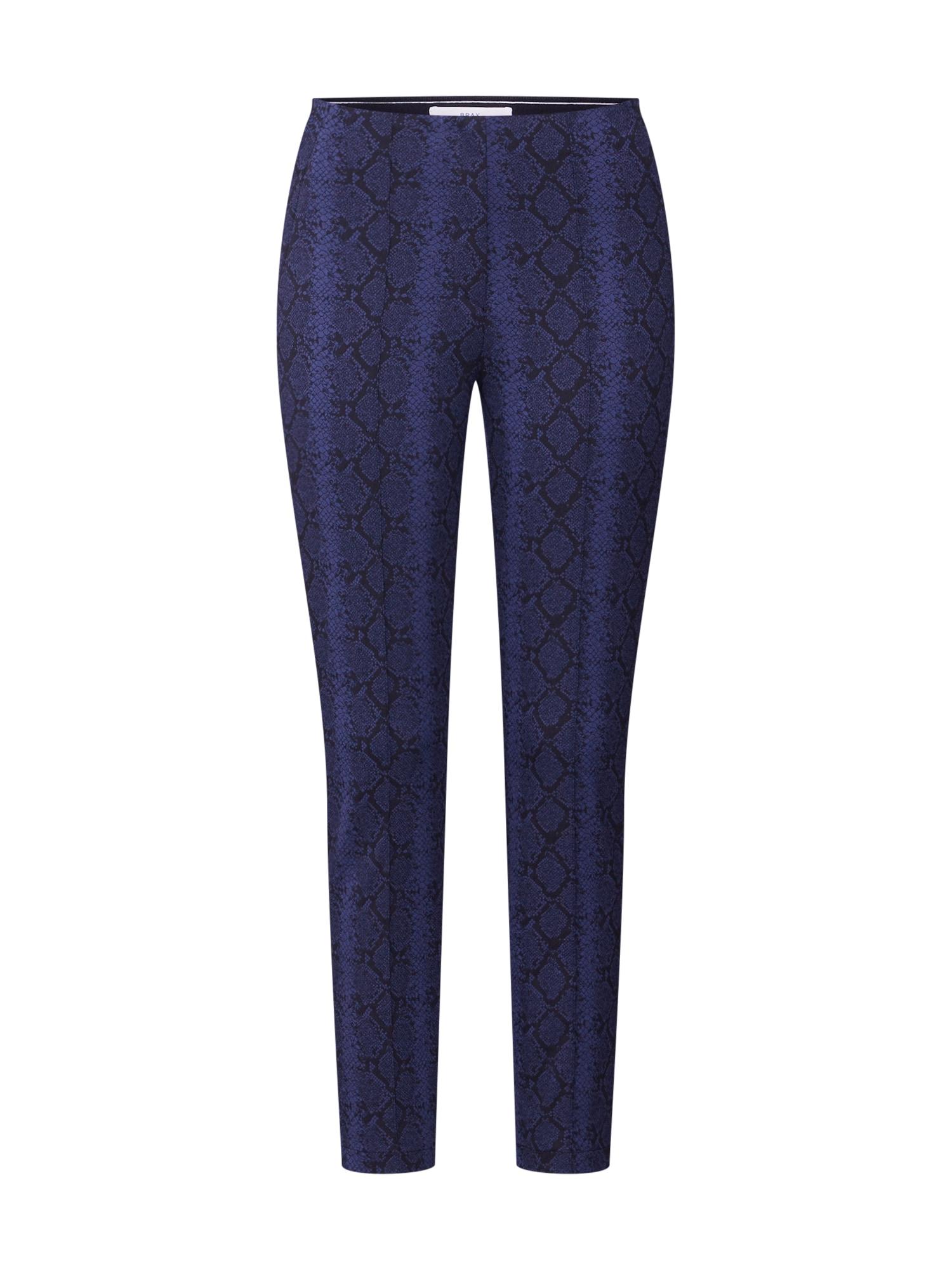 BRAX Kelnės su kantu 'Stella' tamsiai mėlyna / juoda