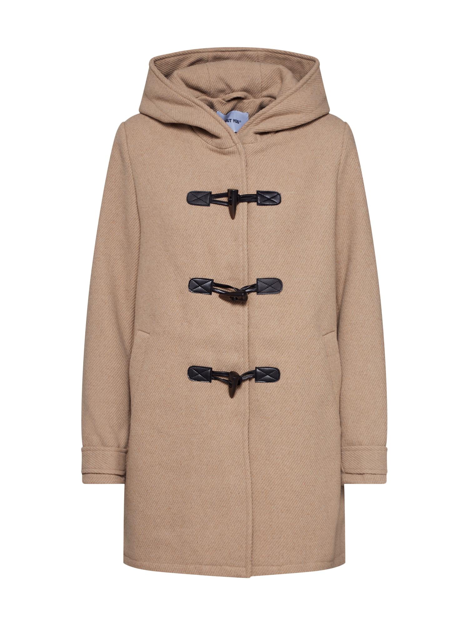 ABOUT YOU Rudeninis-žieminis paltas 'Birka' smėlio