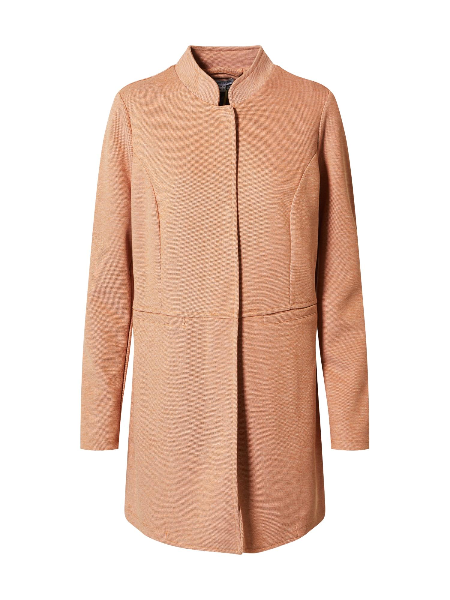 STREET ONE Demisezoninis paltas margai oranžinė