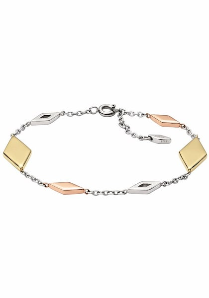 Armbaender für Frauen - FOSSIL Armband 'VINTAGE ICONIC, JF02724998' gold rosegold silber weiß  - Onlineshop ABOUT YOU