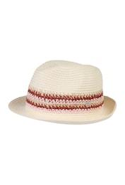 Esprit Damen Trilby-Hut beige,rosa | 04060468919708