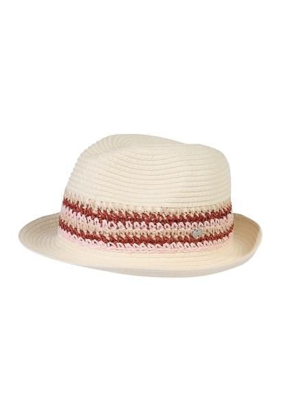 Muetzen für Frauen - ESPRIT Trilby Hut beige rosa  - Onlineshop ABOUT YOU