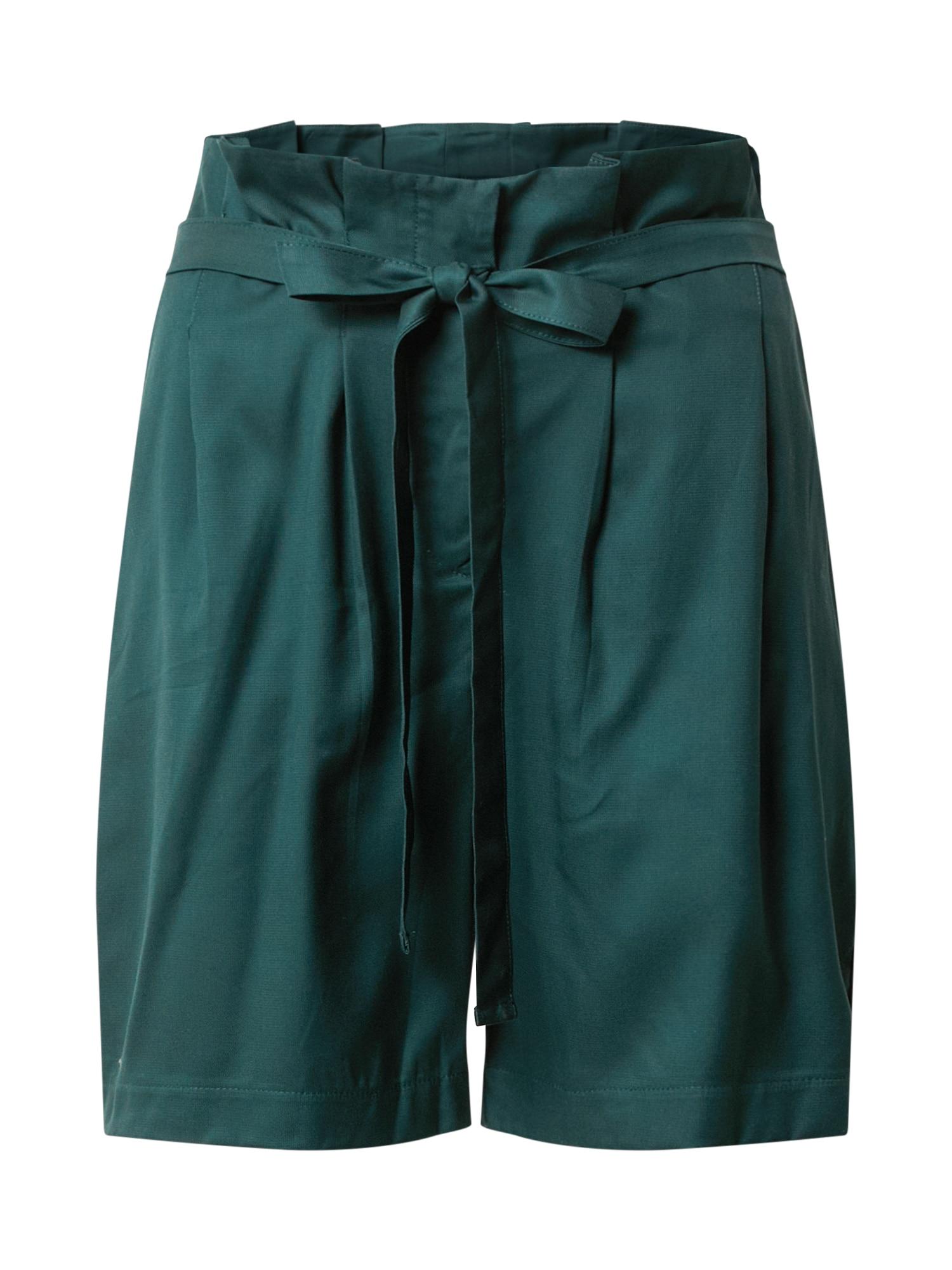 JAN 'N JUNE Plisované nohavice 'CORDOBA'  zelená