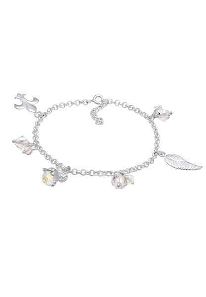Armbaender - Bettelarmband 'Engel, Flügel' › Nenalina › silber  - Onlineshop ABOUT YOU