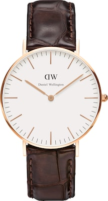 Daniel Wellington Analoog horloge 'Classic Collection York'
