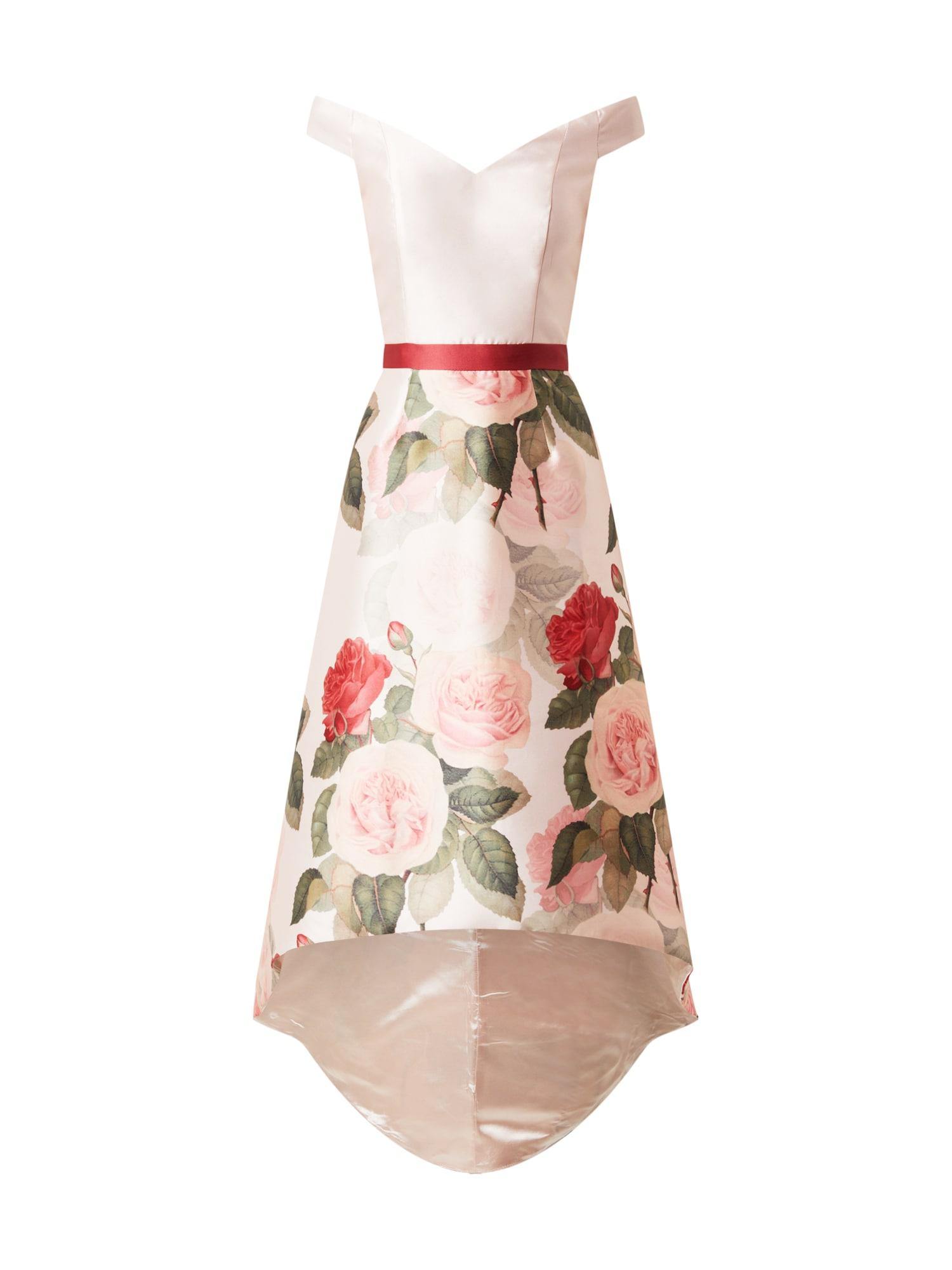 Chi Chi London Kokteilinė suknelė rožinė / raudona / žalia