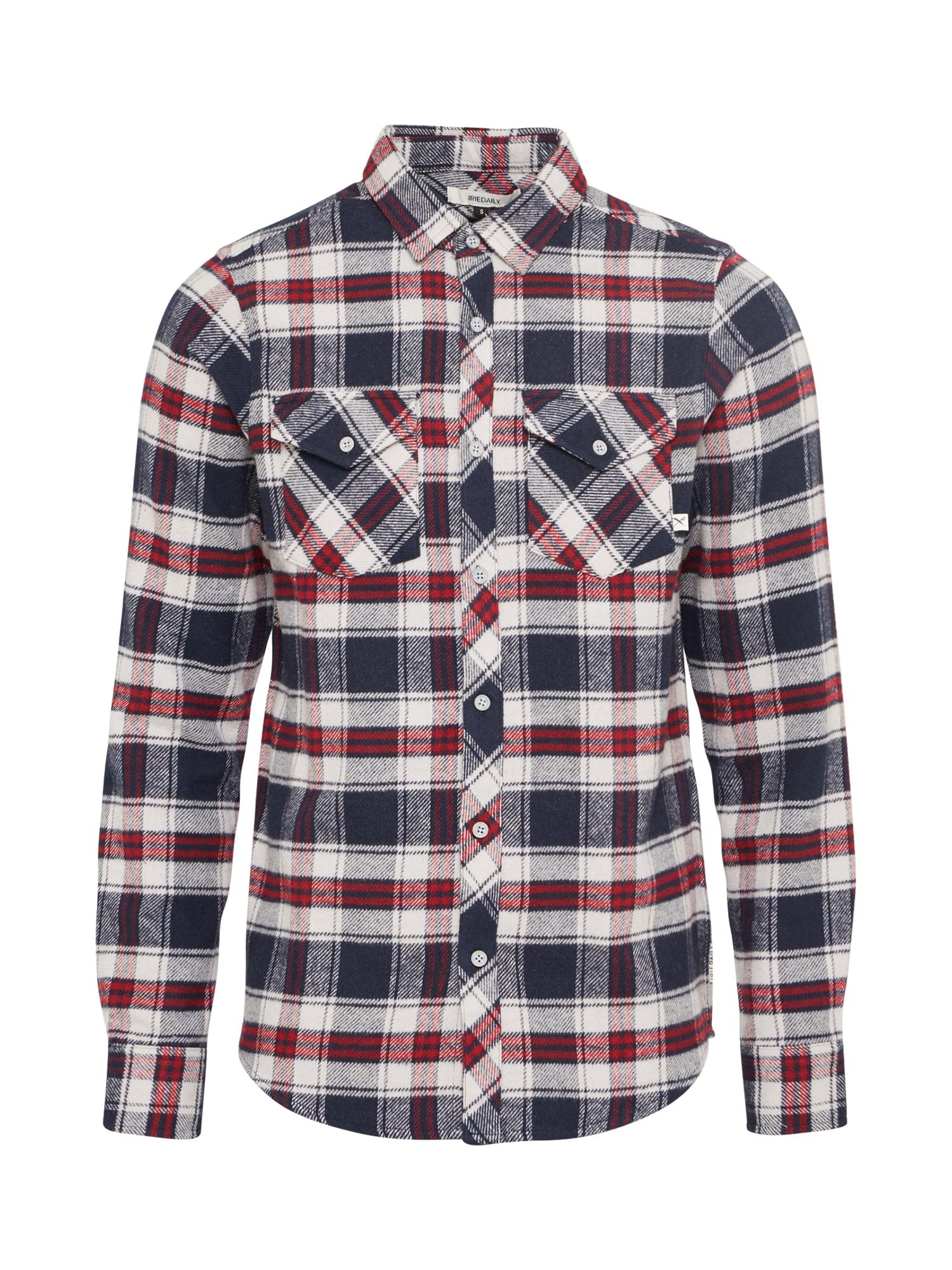 Košile Rosomako modrá červená bílá Iriedaily