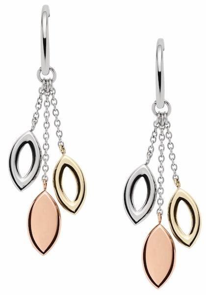 Ohrringe für Frauen - FOSSIL Paar Ohrhaken gold silber  - Onlineshop ABOUT YOU
