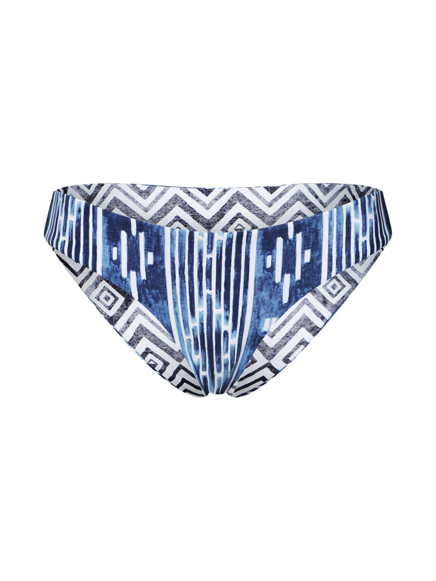 Spodní díl plavek MOON TIDE REVO GOOD modrá bílá RIP CURL