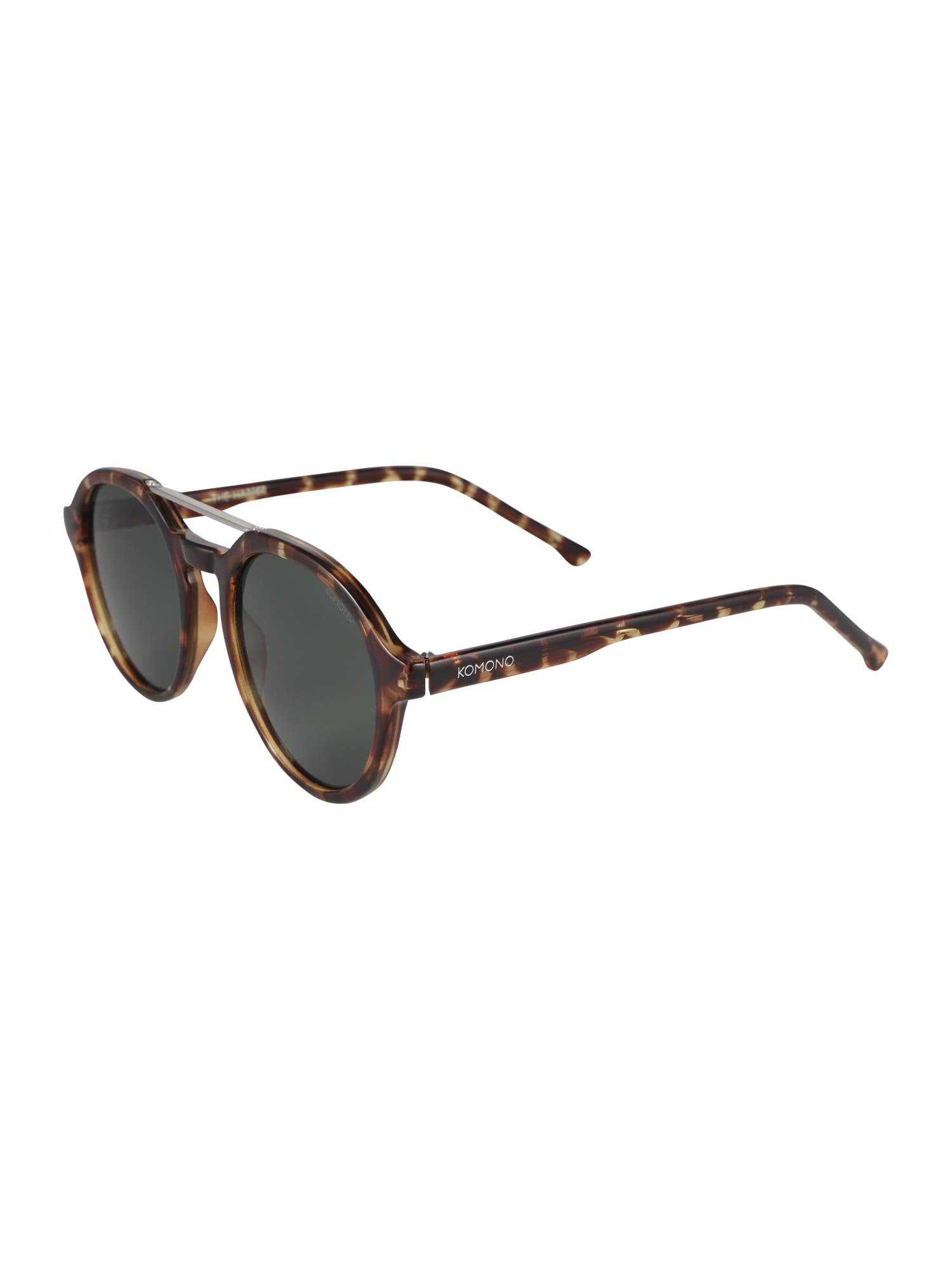 Sluneční brýle Harper hnědá Komono