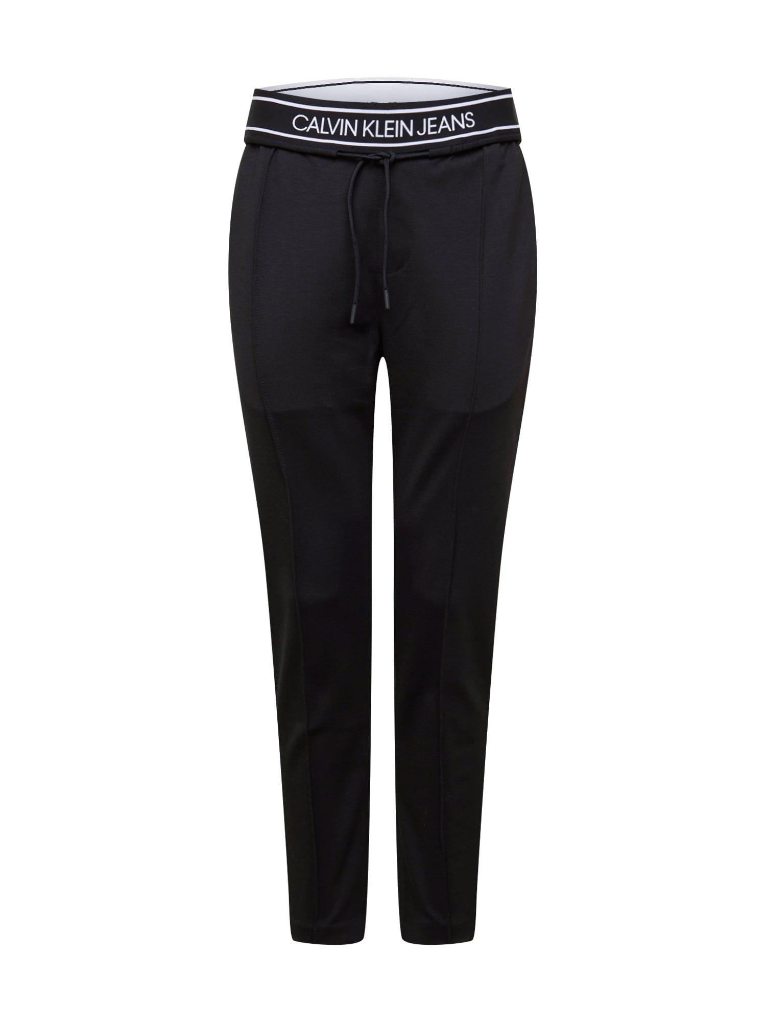 Calvin Klein Jeans Kelnės juoda