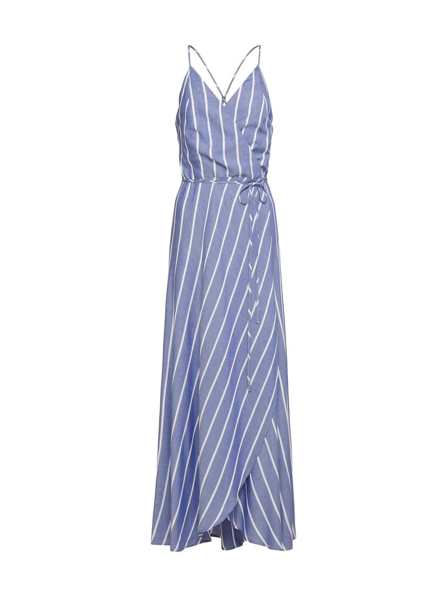 Bardot Vasarinė suknelė mėlyna / balta