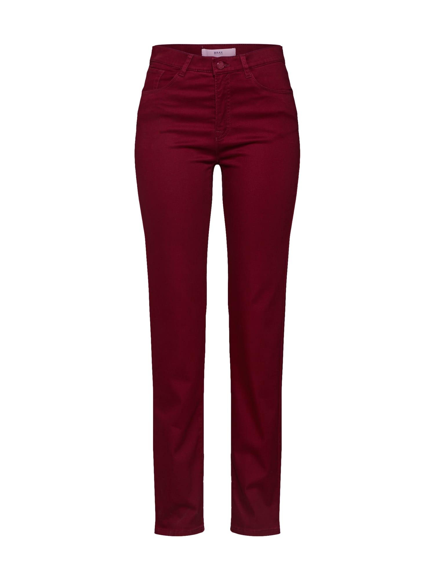 BRAX Kelnės 'Mary' vyšninė spalva