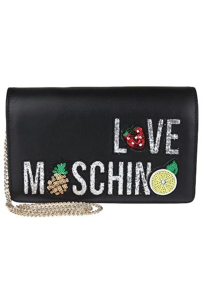 Clutches für Frauen - Love Moschino Clutch schwarz  - Onlineshop ABOUT YOU