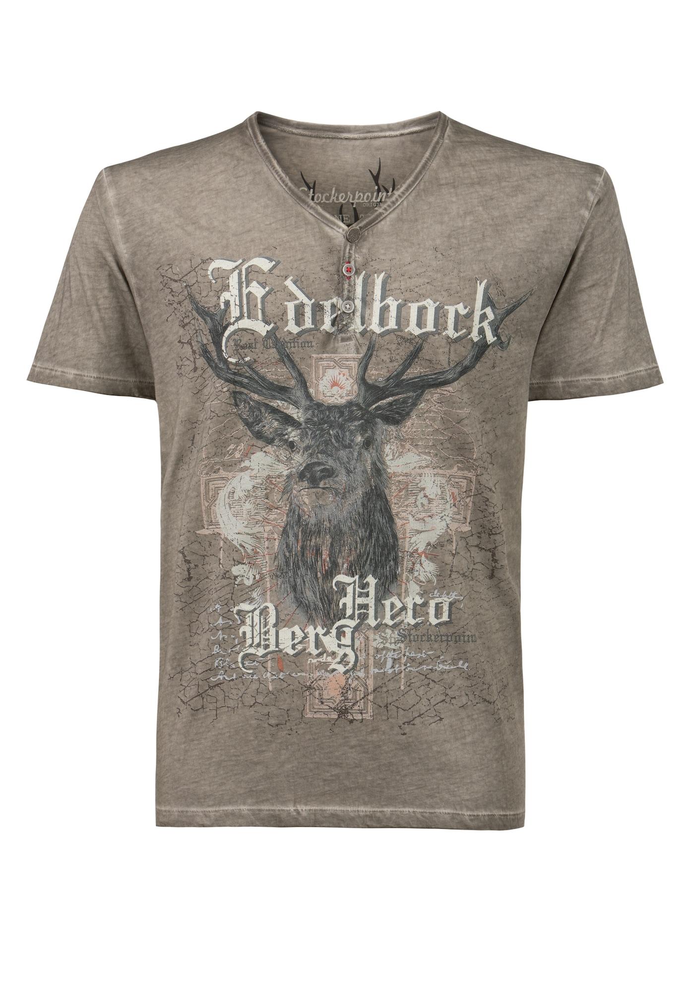 STOCKERPOINT Marškinėliai su tradiciniais raštais
